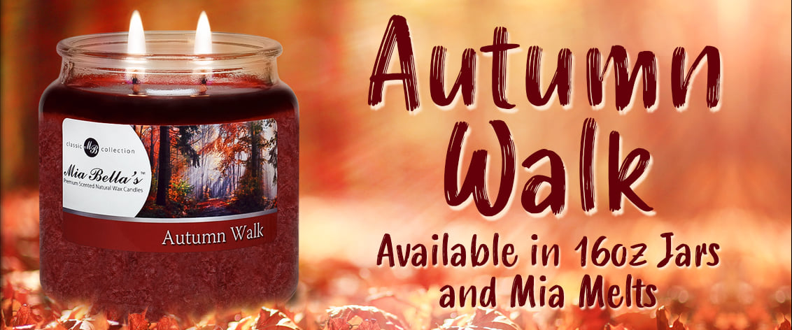Autumn Walk Fall Candle Scent